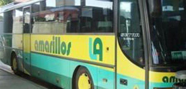 Los conductores de Los Amarillos,  sufren acoso en la linea Los Palacios y Villafranca con Sevilla