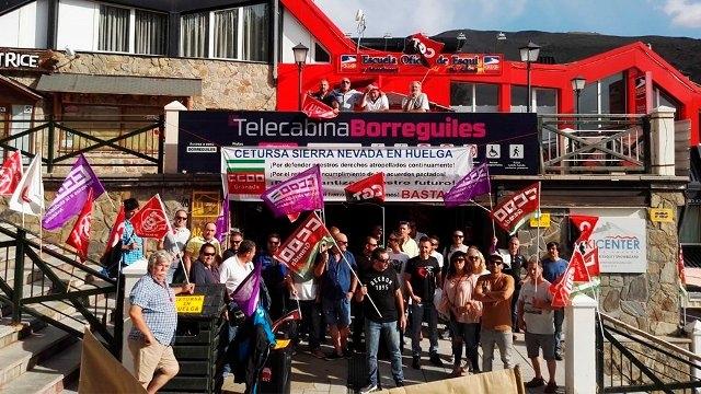 Trabajadores de Cetursa califican de rotundo éxito la huelga por sus condiciones laborales