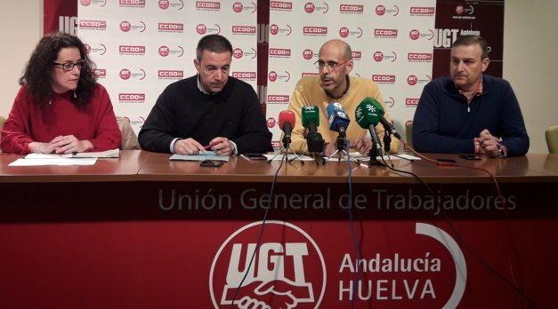 UGT y CCOO anuncian movilizaciones en Semana Santa ante el bloqueo del Convenio de Hostelería de Huelva