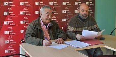 UGT denuncia la supresión de itinerarios por transportes Sepulvedana en el Valle del Guadiato