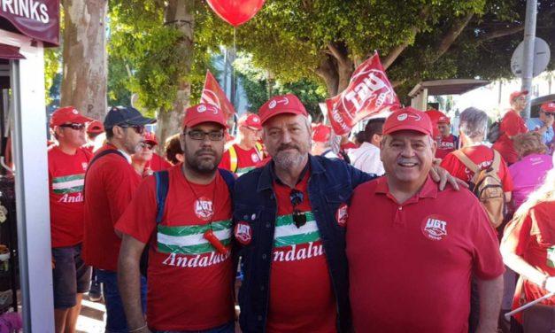 UGT y CCOO en lucha por un convenio digno en la hostelería de Málaga