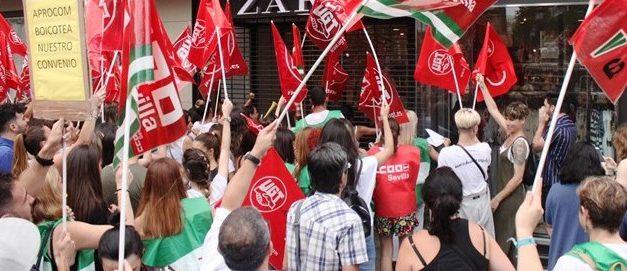 Tras el exitoso primer día de huelga en el comercio sevillano, se acuerda reiniciar la negociación  del convenio