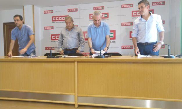 UGT firma el manifiesto, conjuntamente con CCOO, FACUA y AL-ANDALUS, sobre regulación de horarios comerciales