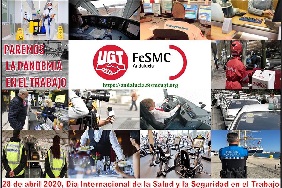 UGT Andalucía denuncia la falta de compromiso de muchas empresas con la seguridad en el trabajo, y exige a la Junta más interlocución