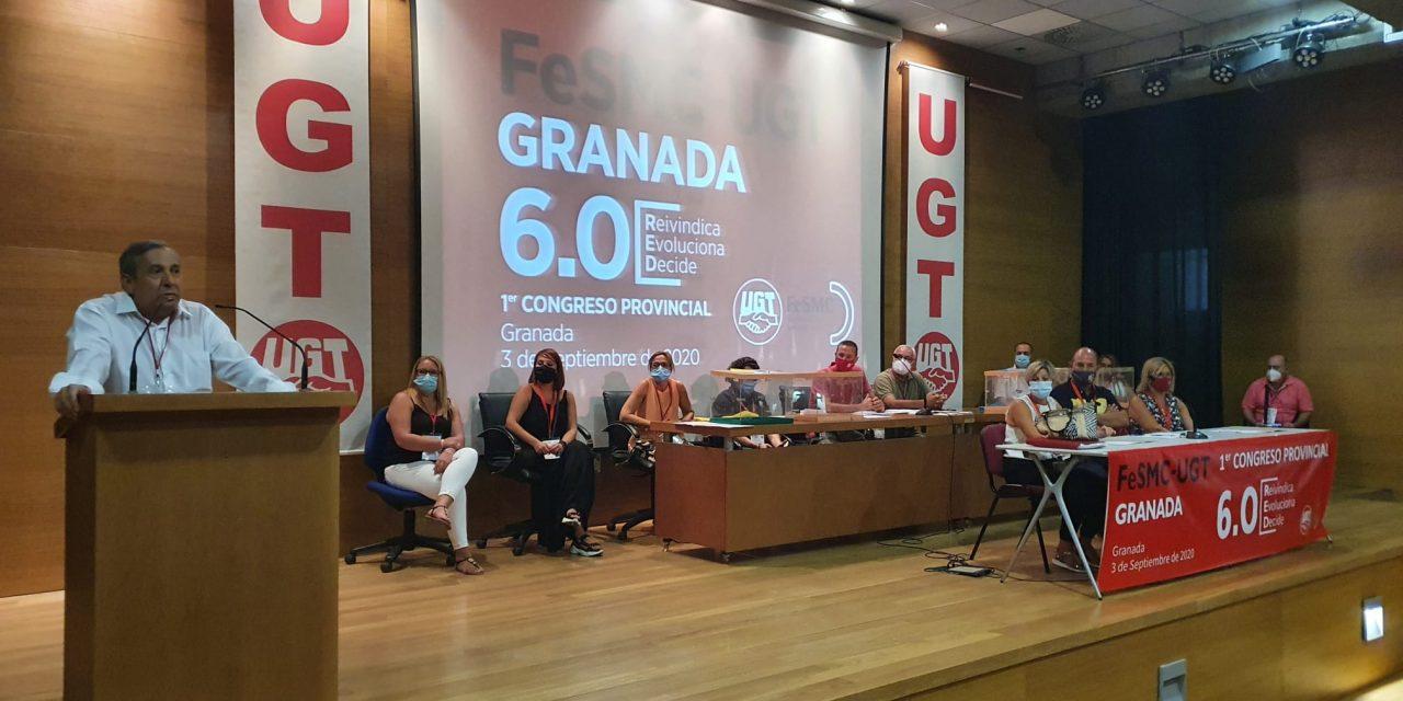 Antonio Muñoz,reelegido Secretario General de FeSMC UGT Granada, con el 99% de los votos.