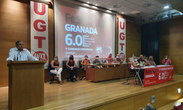 Antonio Muñoz, reelegido Secretario General de FeSMC-UGT Granada, con el 99% de los votos.