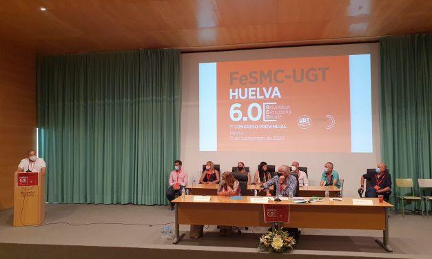 Fernando Parrillo, reelegido Secretario General de FeSMC UGT-Huelva