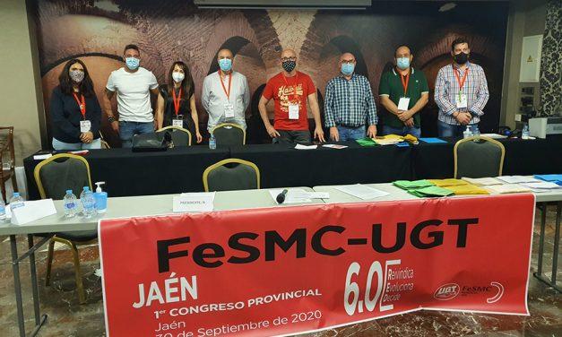 Jesús David Dueñas Ortega, elegido nuevo Secretario General de FeSMC-UGT Jaén