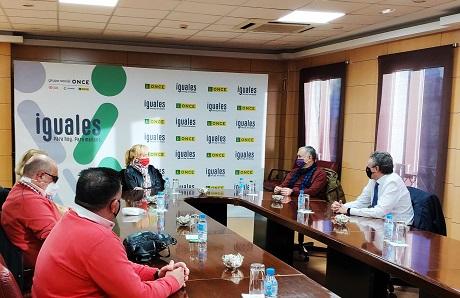 UGT y ONCE se reúnen para reforzar el grupo empresarial ante la crisis por la pandemia