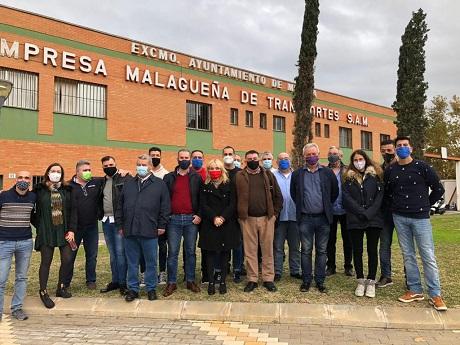 La Empresa Municipal Malagueña de Transportes no actúa y pone en peligro a su plantilla y viajeros frente a la pandemia