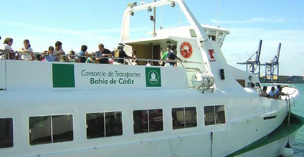 Trabajadores/as de catamaranes de la Bahía de Cádiz avisan de posibles paros en el servicio